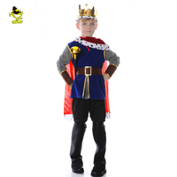 Hot Sale Disfraces Halloween Cosplay Costume For Children The King Costumes Children S Day Boys Prince