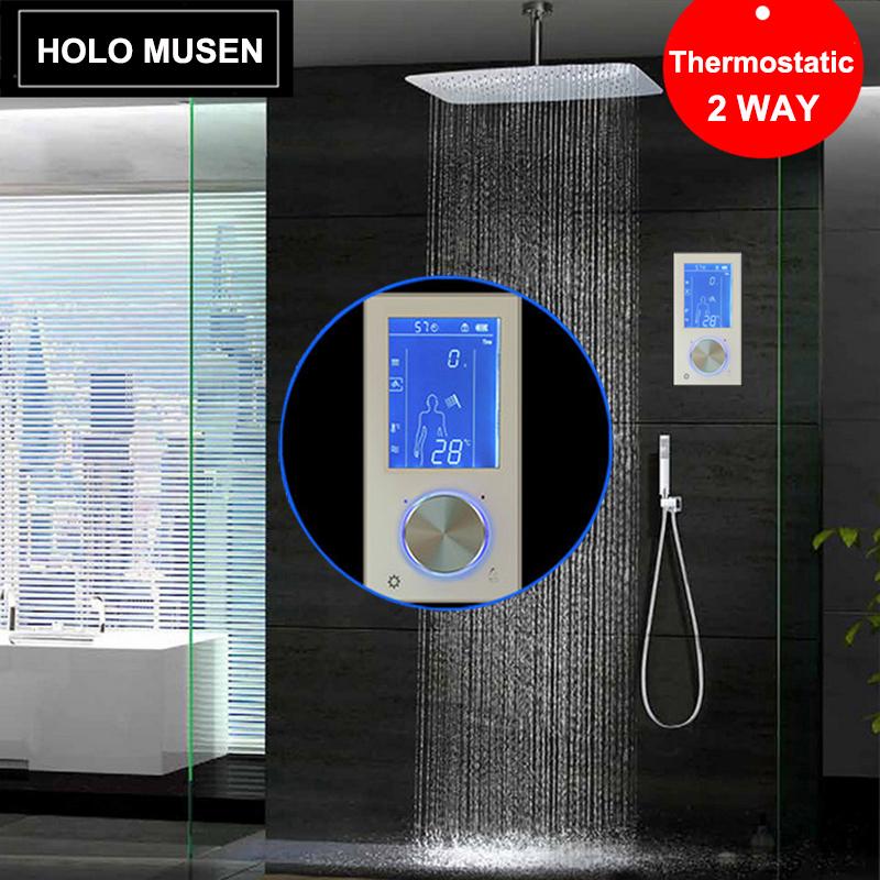 digital shower panel