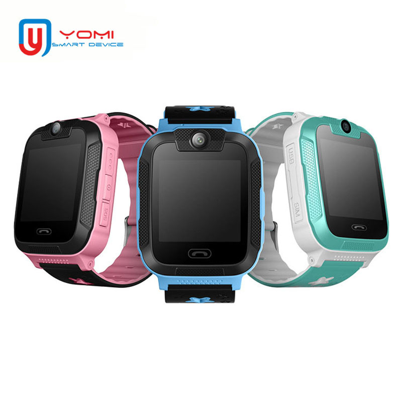 Smart Watch Kids Real 3G Smartwatch GPS Wi-Fi Tracker SOS Call Remote Monitor Camera Watch for IOS Android Kids GPS Watch Clock diggro 2g 1 44 inch touch kids gps tracker smart watch with camera 2g sim calls chat anti lost sos remote children safety monitor health helper flashlight for android ios three colors
