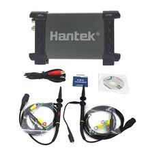 Hantek 6022BE 6022BL PC USB портативный цифровой портативный осциллограф 6022BE цифровой накопитель 2 канала 20 МГц 48MSa/s осциллограф