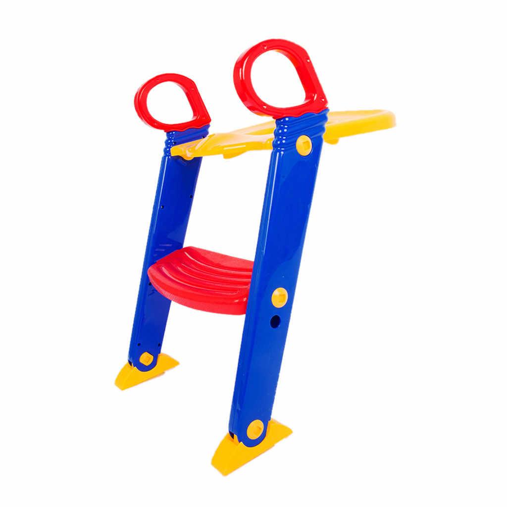 Crianças Potty Training Assento com Escadinha Escada para a Criança Criança Cadeira Sanita