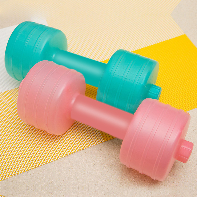 Pc kg new injection water dumbbells home gym women comprehensive