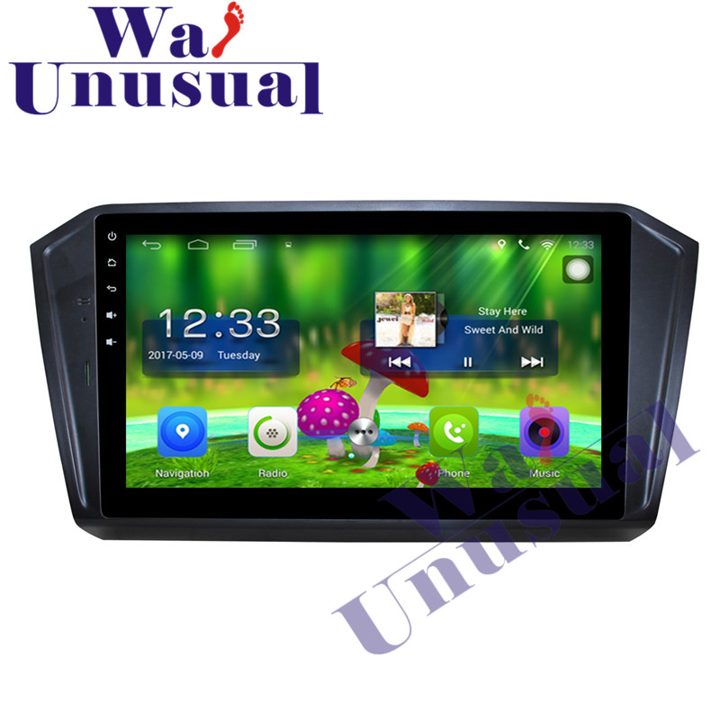 <font><b>10.1</b></font> Inch Quad Core 16G Android 6.0 GPS Navigation For <font><b>VW</b></font> <font><b>Magotan</b></font> 2017 Radio Stereo Player with GPS WIFI BT 3G 1024*600 FreeMaps image