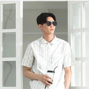 Image 5 - Youpin Turok TS מותג מקוטב נירוסטה שמש מראה עדשות זכוכית ילדי UV400 משקפי שמש חיצוני נסיעות גבר אישה H30