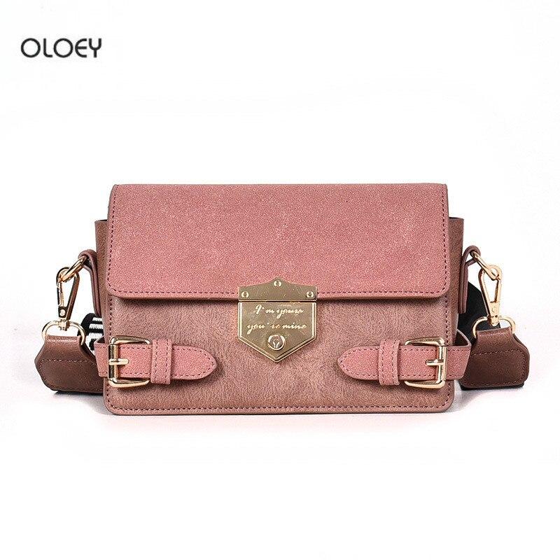 adb9dd8e00 Cuoio Del Piccola Borse Modo Spalla Borsa brown Retrò Sacchetto Nuovo  Cinghia Messaggero Bag Pink ...
