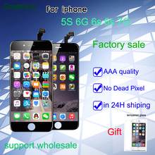 Gpadparts AAA + Screen For iPhone 5s i6 lcd Repair 6s 6S plus LCD 7 Touch 3D display Digitizer full assembly