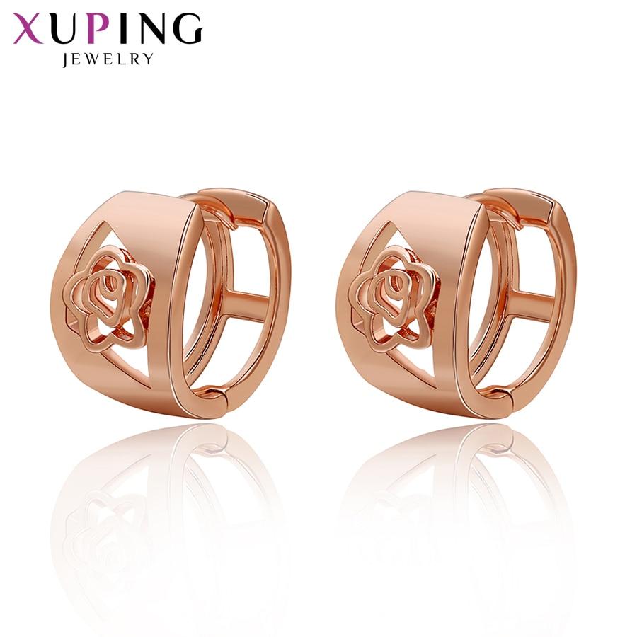 Xuping Fashion Fülbevaló Anyák napja A legjobb ajándék anyuka Charm európai stílusú arany színű aranyozott jelmez ékszer ajándék 29584