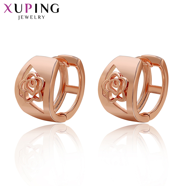 Xuping Fashion Earrings Mother's Day Best Gift Mom Charm European Style Gold Color Plated Costume Jewelry Gift 29584