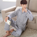 Siriusha Male Pajamas Soft Cotton Fabric and a Variety of Plaid! Sleepwear and Pants Four Seasons Sleep Home Clothing!