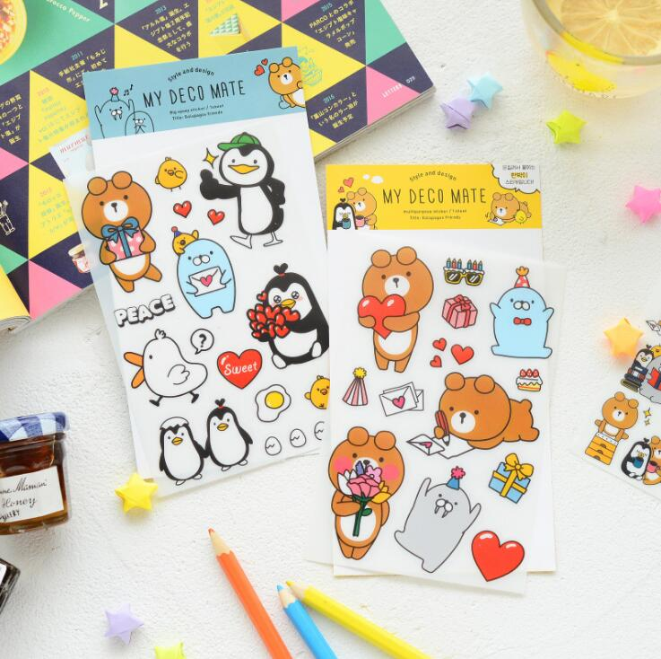 My Deco Mate Decorative Washi Stickers Scrapbooking Stick Label Diary Stationery Album Stickers