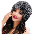Women Winter Warming Soft Line Woolen Kinitting Hats Lady Handmade Warm Caps Female Headgear Nov7