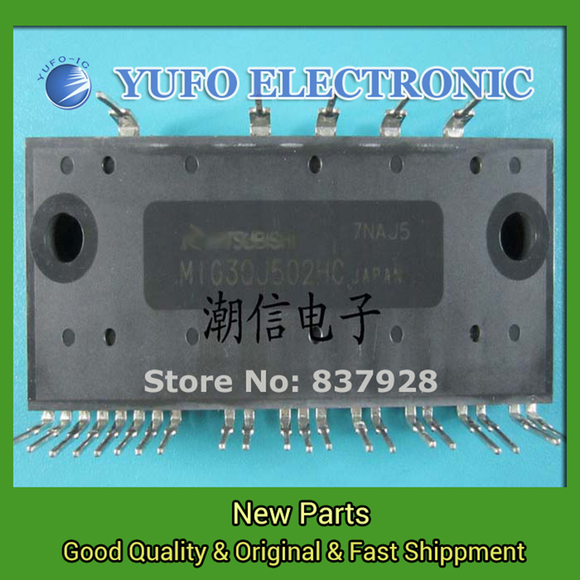 Free Shipping 1PCS  MIG30J502HC imported disassemble good measure bag handy foot long Nett Direct Auction YF0705 relay lt3212 3bs0121712gp e59670 fsp205 3e01c used disassemble