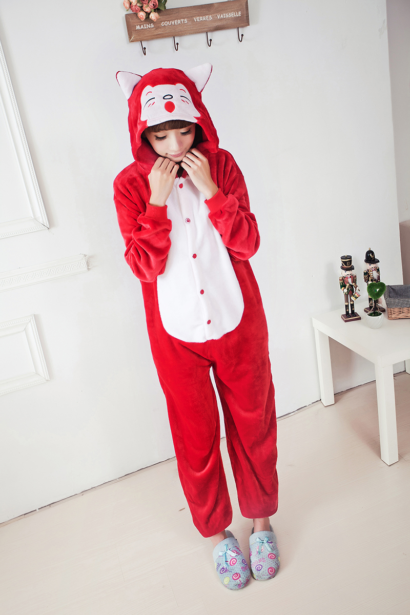 87c4dd65e0 Detail Feedback Questions about EIGHT UP Kigurumi Onesie Cosplay Winter Red  Fox Onesie Flannel Ali Pajama Sets Adult Unisex Animal Pyjamas Onesies  Costumes ...