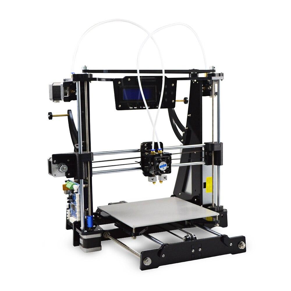 Zonestar P802CR2 cadre acrylique Reprap Prusa I3 bricolage 3D Kit imprimante