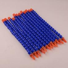 """LETAOSK manguera de tubo de refrigerante de plástico Flexible, boquilla redonda para máquina CNC, tubo de enfriamiento de fresado, 1/4 """", 300mm, 12 Uds."""