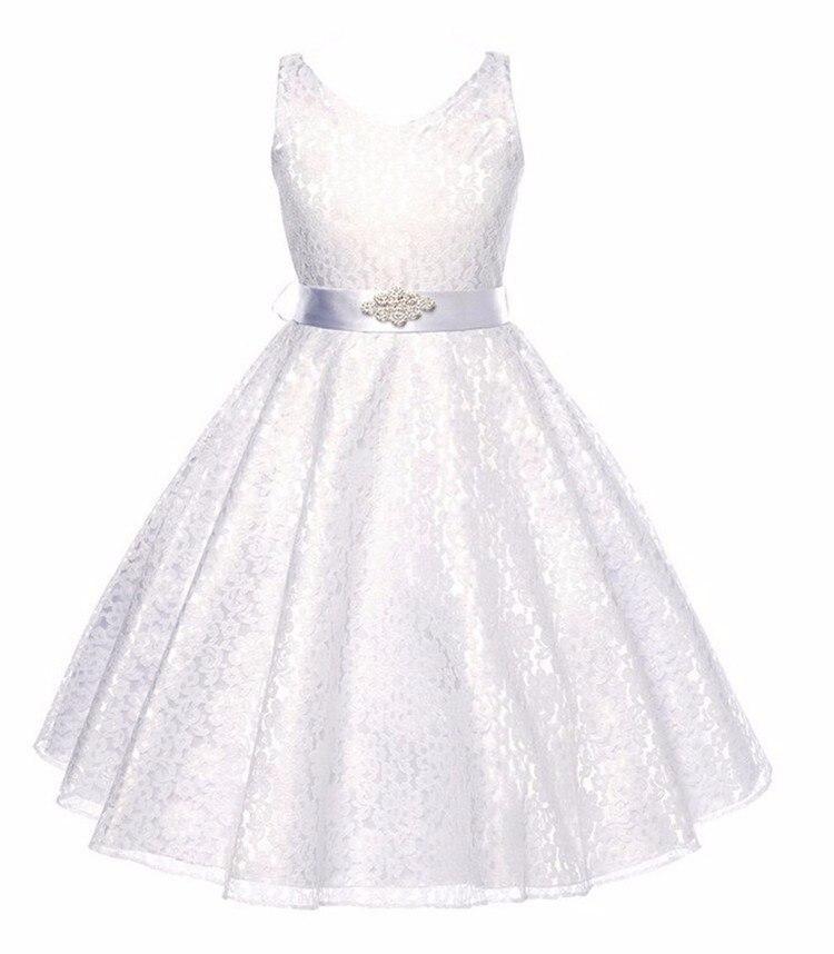Lace Gown Girls Children 9