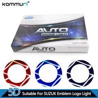 Car Styling 5D Rear Badge Logo Light For Suzuki SWIFT Alto Jimny Rear LED Emblem Logo