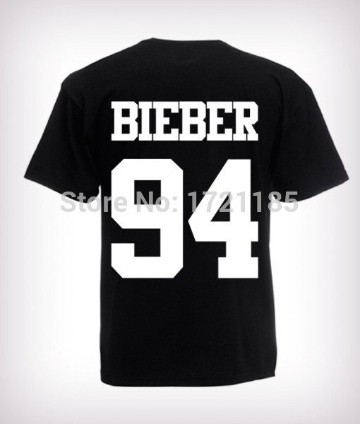 2016 fashion justin bieber t shirt band boy t shirt rock. Black Bedroom Furniture Sets. Home Design Ideas