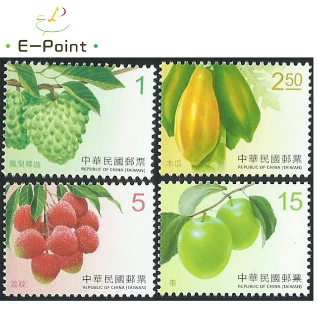 US $2 84 5% OFF|E Point 4 PCS/Set China Taiwan Postage Stamps 2016 Fruit-in  Stamps from Home & Garden on Aliexpress com | Alibaba Group