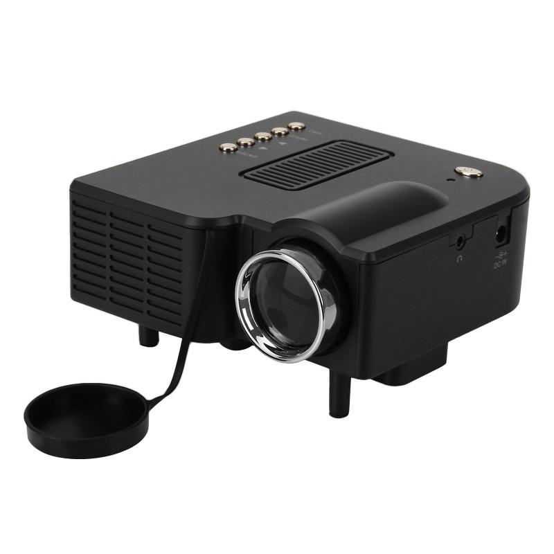 Free shipping UC28+ Portable LED Projector Cinema Theater PC&Laptop VGA/USB/SD/AV/HDMI Input White Mini Pocket Projector блузка keiko k 15b0113 2015