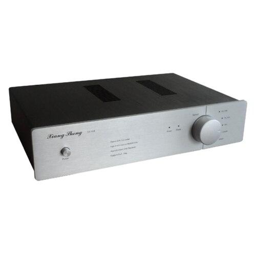 DAC-05B Dual Core 2x AK4495 XMOS XLR DSD Tube HIFI Xu208 Decoder 32bit 384K 220V nobsound dual ak4495 usb dac audio decoder dsd xmos xu208 digital to analog converter