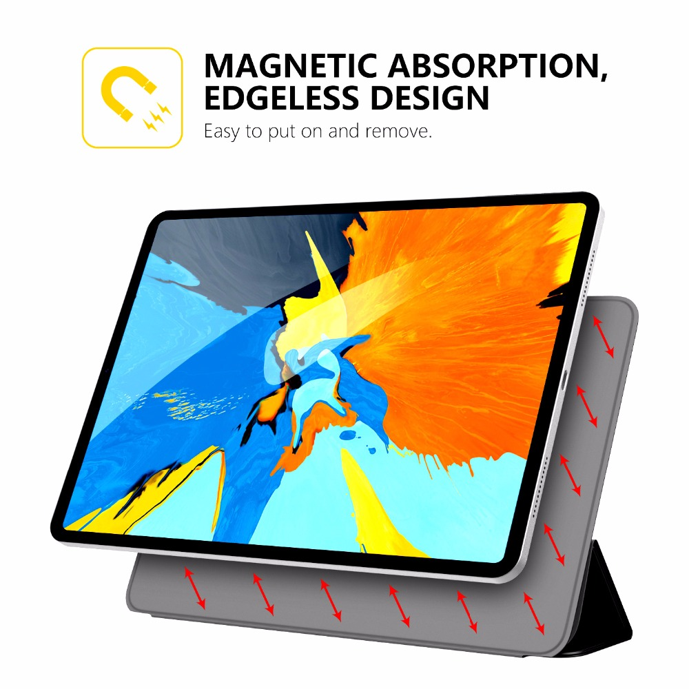 sports shoes 3c0a0 5a7e3 US $23.09 23% OFF|MoKo Case for iPad Pro 11 2018 [Support Magnetically  Attach Charge/Pair] Slim Lightweight Smart Shell Stand Cover with Auto  Wake-in ...