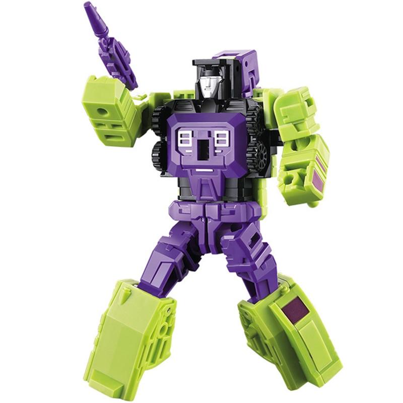 6 Modes Robot Hot G1 Transformed Titans Return Six Shot Figure Boy Toys Gift !!