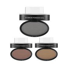 Eyebrow Powder Seal Waterproof Stamp Shadow Set Natural Shape Brow PaletteChina
