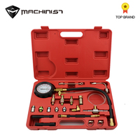 1set Fuel Pressure Gauge Auto Diagnostics Tools For Fuel Injection Pump Tester tool car repair tool kit