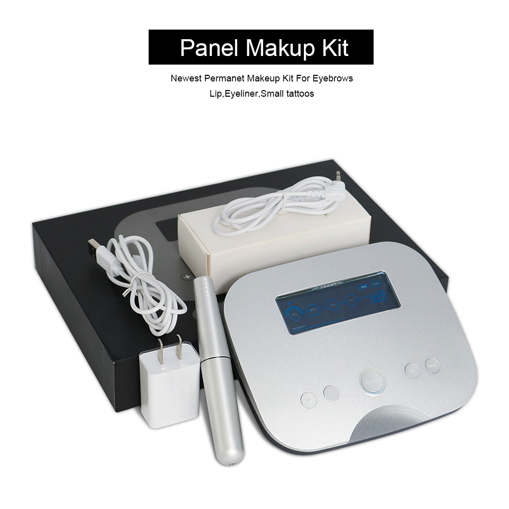 High-end Aluminum Panel Control Small Tattoo machine Kit For Permanent makeup Eyebrows,Lip,Eyeliner Super Elegant Tattoo DeviceHigh-end Aluminum Panel Control Small Tattoo machine Kit For Permanent makeup Eyebrows,Lip,Eyeliner Super Elegant Tattoo Device