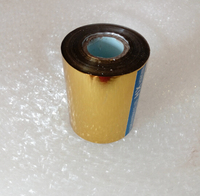 3 1 X131yards 8cmx120M Golden Color Hot Stamping Foil Heat Transfer Laminating Napkin Gilding PVC Business