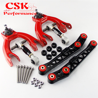 Lower Control Arm LCA+Bushing Washer+Front Rear Camber Kit For Civic EG EJ EH