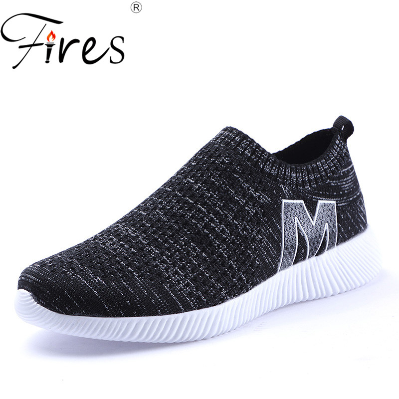 Fires Summer Men Casual Shoes Fashion Breathable Couple Flat Shoes Brand  Comfortable Slip-on Cheap Shose Unisex Loafer Shoes