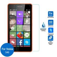 For Microsoft lumia 540 Dual Sim Tempered glass Screen Protector 2.5 9h Clear Sa