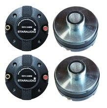 Staraudio sdv-34mm 4 шт. 2000 Вт 1.35 «Титан прижимной винт-на рога драйвер Динамики высоких частот для автомобиля для Колонки