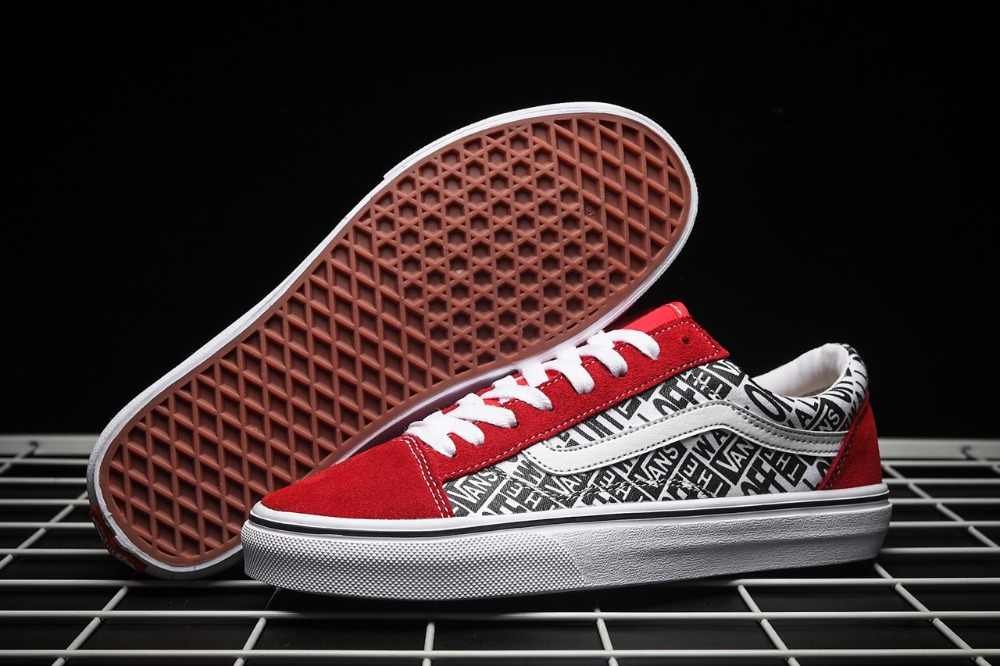 fb230f90a110 Detail Feedback Questions about New arrival Original VANS men and women  classic Old Skool low top Contrast color peanuts skate canvas sneakers  size36 44 on ...