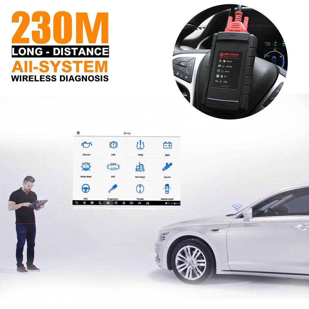 Autel MaxiCOM MK908 Auto Full OBD2 herramienta de diagnóstico de coche OBDII lector de código de codificación de código escáner OBD 2 HERRAMIENTA de escaneo pk Launch X431 - 4