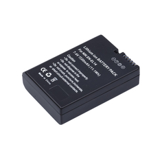 Bateria 1 pcs EN-EL14 EN EL14 ENEL14 baterias + Caso Para bateria da câmera Nikon P7000 P7100 P7700 D3100 D3200 D5100 D5300 EN-EL4a