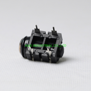 "Image 3 - 10ชิ้น1/4 ""คลิฟ6.35แจ็คโทรศัพท์4pin PCBหูฟังเสียงหลอดแอมป์กีต้าร์โมโนติดที่ตัวเครื่อง"