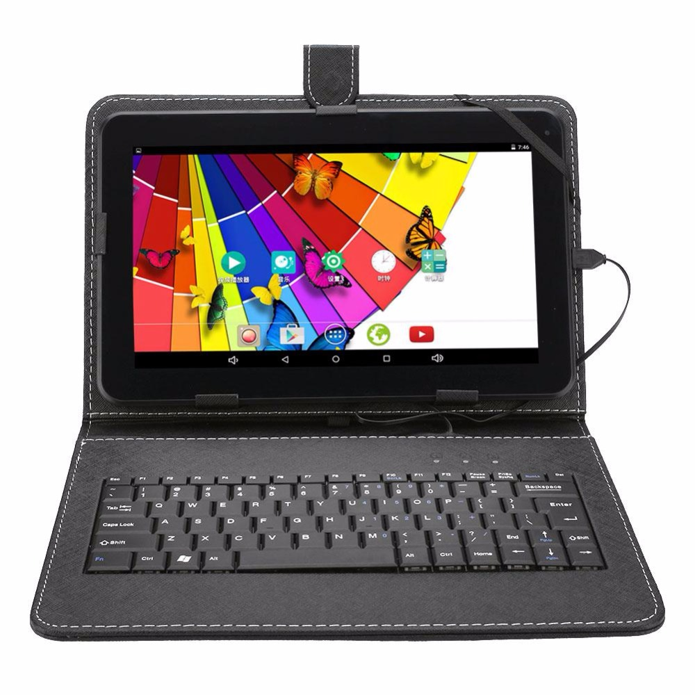 10.1 inch Tablet PC Android 5.1 Quad Core 1+8G WIFI with Keyboard Kit Adapter