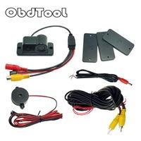 Waterproof 2 in1 Reversing Camera Car Electronics Parking   Sensors     Automobiles   Reversing Radar Auto Rear View Camera LR10