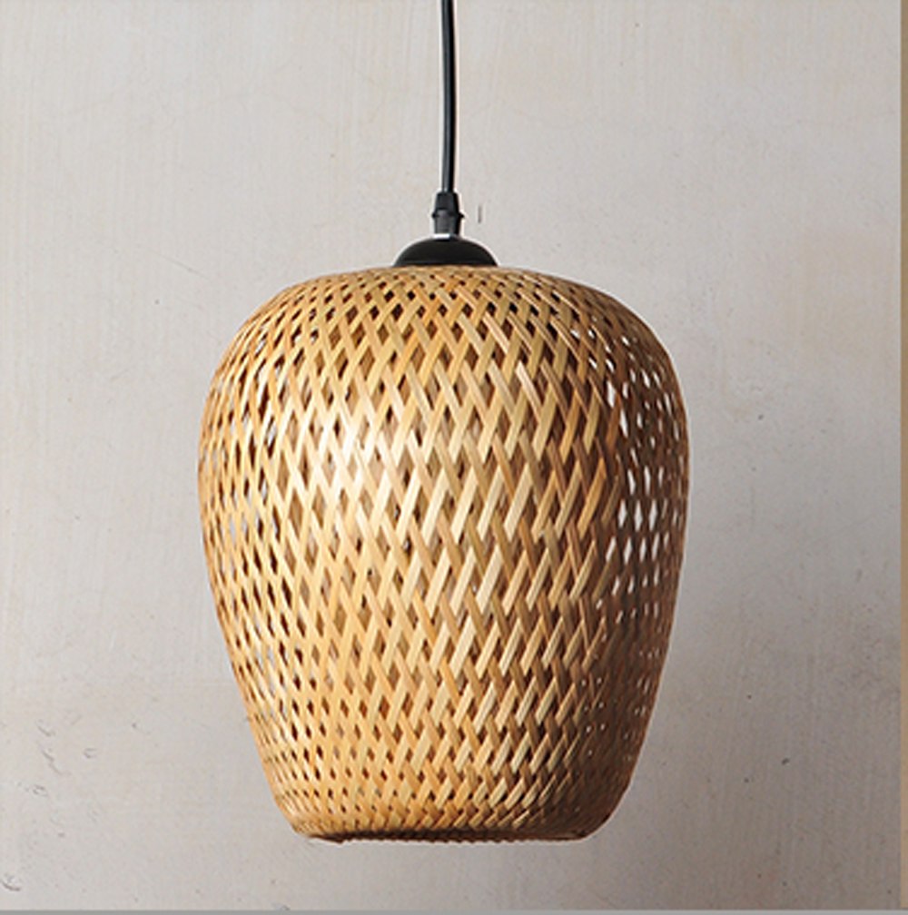 LED lighting bulb hotel garden decoration personality creative bamboo craft chandelier modern Chinese lantern lantern-in L& Covers u0026 Shades from Lights ... & LED lighting bulb hotel garden decoration personality creative ...