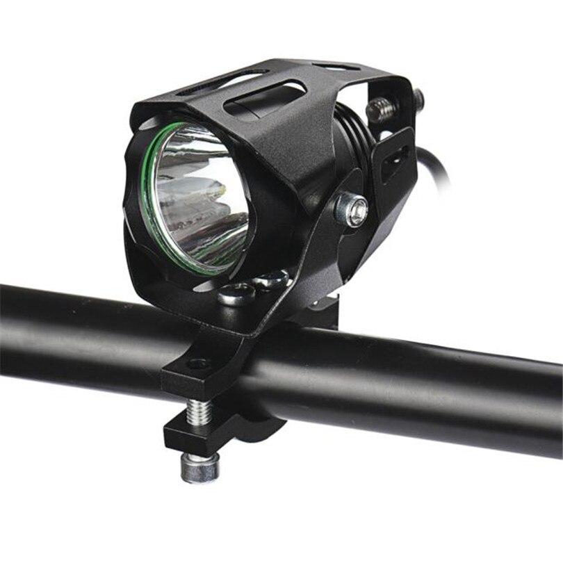 15 W XML T6 LED Spotlight Motocicleta de Conducción Niebla Lámpara Del Punto de