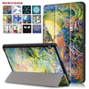 For Capa Para Huawei MediaPad T3 10 0 Cover Case New Painting PU Leather Cases For