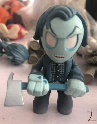 Exclusive Funko Used Mystery Minis: Horror Movies: The Shinning - Jack Torrance Frozen Vinyl Figure Collectible Model Toy No BoxExclusive Funko Used Mystery Minis: Horror Movies: The Shinning - Jack Torrance Frozen Vinyl Figure Collectible Model Toy No Box