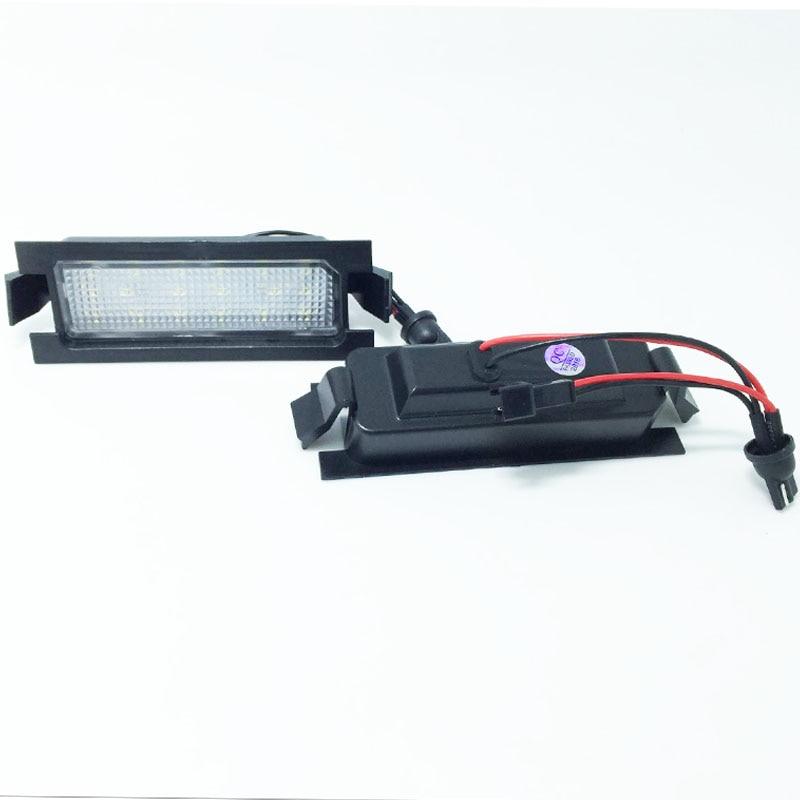 HOPSTYLING 2x Canbus 18 SMD lemputės numerio ženklo apšvietimas - Automobilių žibintai - Nuotrauka 4