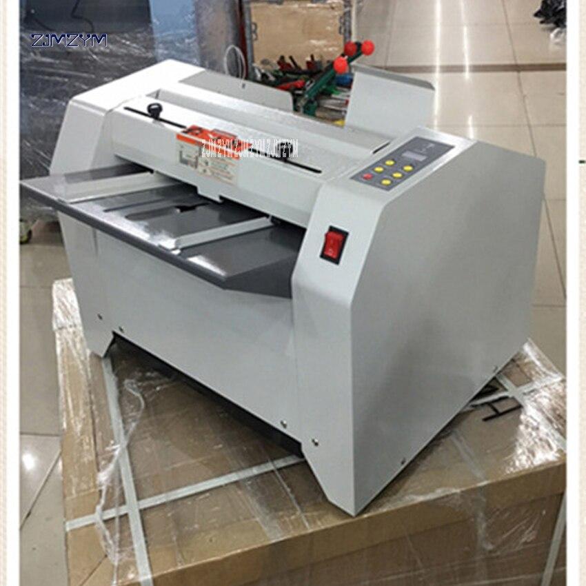 ZY 2 автоматическая машина для складывания ногтей, A3 переплетная машина, Складная машина/переплетная машина 2 в 1, свернутая 70 г бумага 16 листов