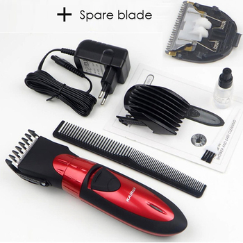 Rechargeable Electric Hair Clipper Pemangkas Rambut Jenggot Rambut Mesin Pemotong Rambut Tahan Air Clipper untuk Pria Bayi Alat Baber