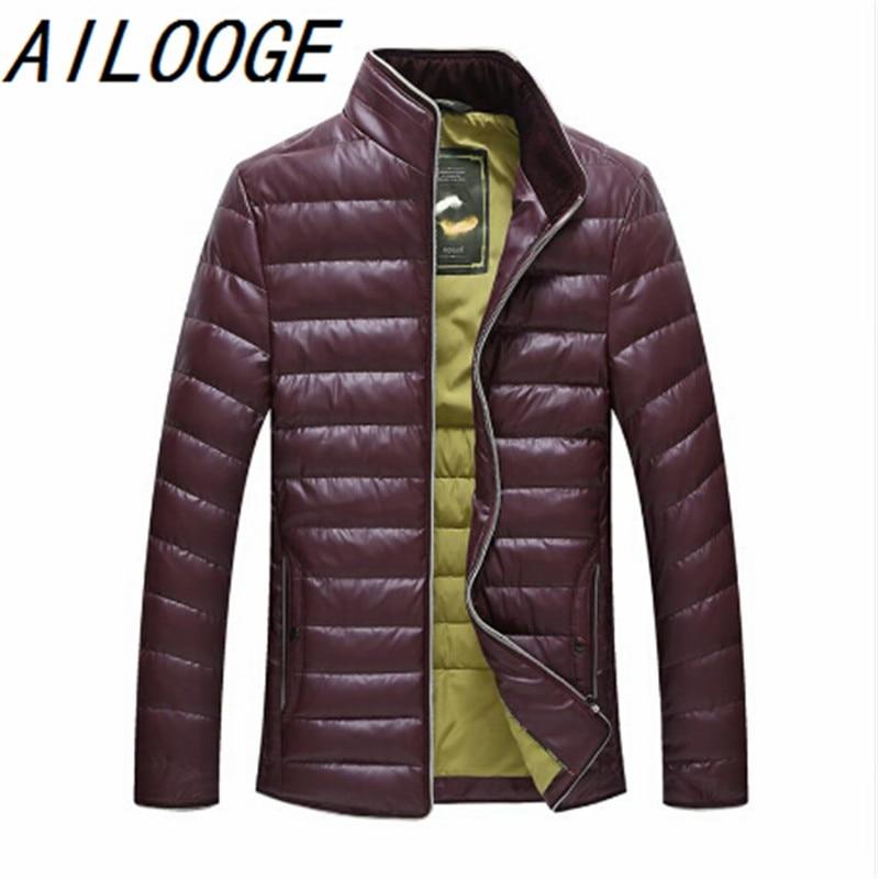 Autumn Winter Duck Down Jacket, Ultra Light Thin plus size winter jacket for men Fashion mens Outerwear coat