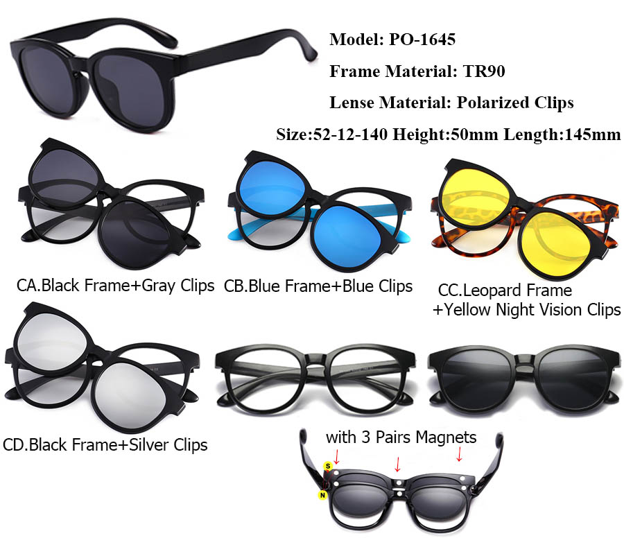 565f85b6d2 Detail Feedback Questions about IVSTA Magnet Sunglasses Men Clip On ...